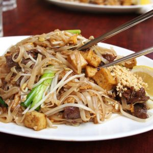 thai food, noodle, fried noodles
